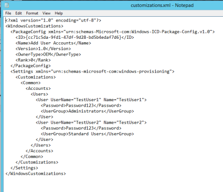 WICD Customizations XML